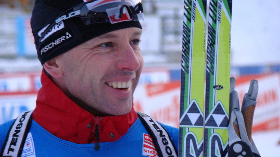 Tomasz Sikora jest sześciokrotnym mistrzem Europy w biathlonie