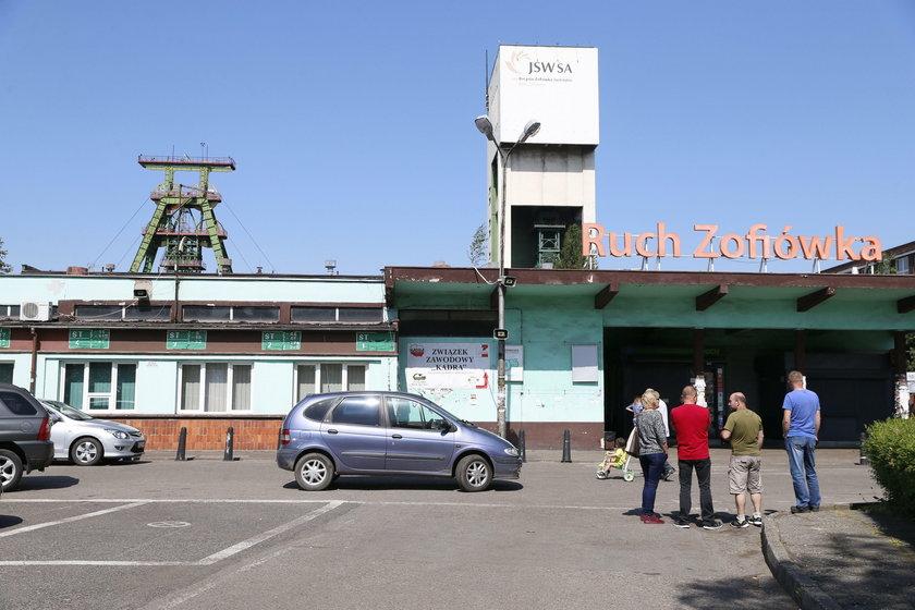 Wstrząs w KWK Zofiówka w Jastrzębiu-Zdroju