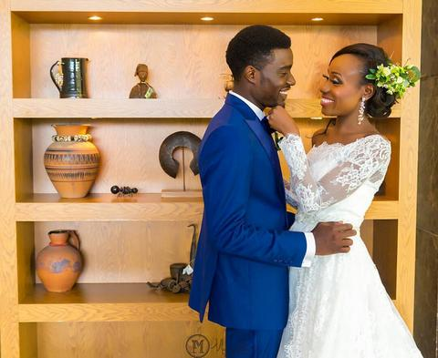 Official photos from Seun Ajayi and Dami Oluwabiyi's wedding. September, 9 2017.