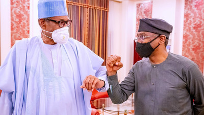 'Uneasy lies the head that wears the crown,' Gbajabiamila says after Buhari meeting
