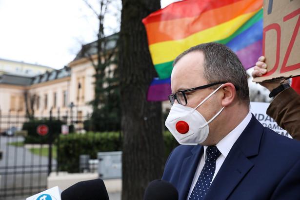 Rzecznik Praw Obywatelskich Adam Bodnar po rozprawie w Trybunale Konstytucyjnym