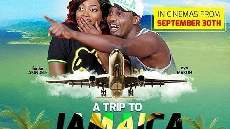 Promotional poster for A Trip to Jamaica