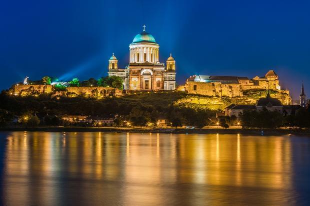 Katedra i zamek w Esztergomie