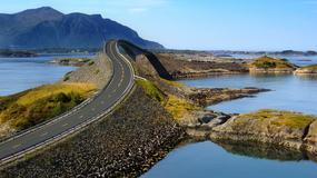 Niezwykła droga widokowa - Droga Atlantycka z Kristiansund do Molde w Norwegii