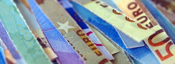 Banknoty euro Fot. Shutterstock