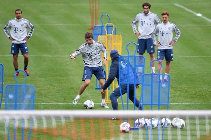 Robert Lewandowski z Bayernem wraca do gry
