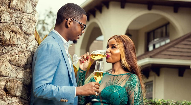 Photos of Anelisa Muigai's secret wedding with Ben Pol surface online