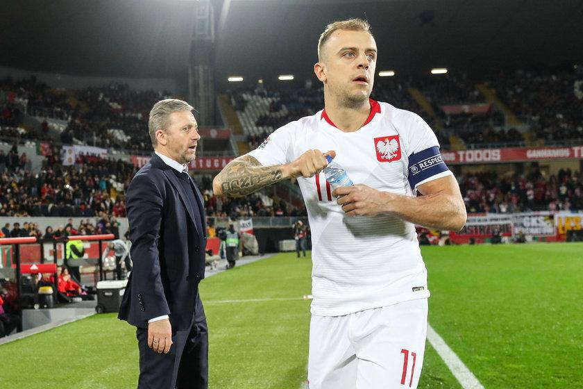 20,11.2018 PORTUGALIA - POLSKA LIGA NARODOW UEFA PILKA NOZNA