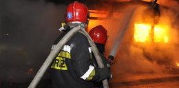 Tragiczny pożar w Skorzewie. Nie żyje 31-letni mężczyzna