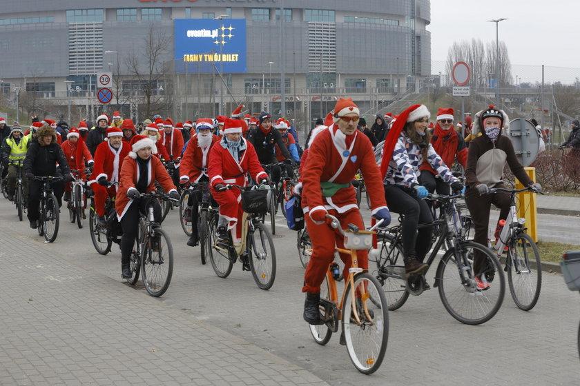 Mikołaje na rowerach 2018