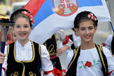 TRKA MIRA Sutra ispred Opštine Zvezdara svečani doček tima na čelu sa Davorom Štefanekom