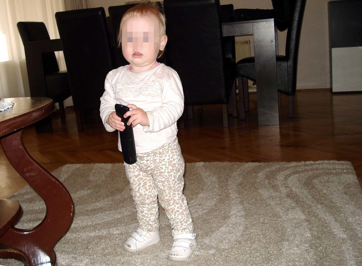 beba Teodora posle izlaska iz bolnice foto privatna arhiva
