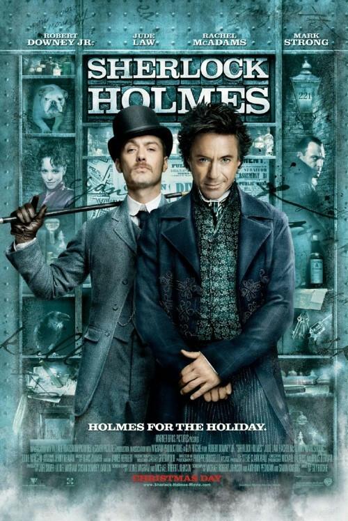 "Plakat filmu ""Sherlock Holmes"", reż. Guy Ritchie"