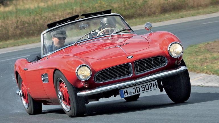 BMW 507: Sportowy czy tylko ładny?