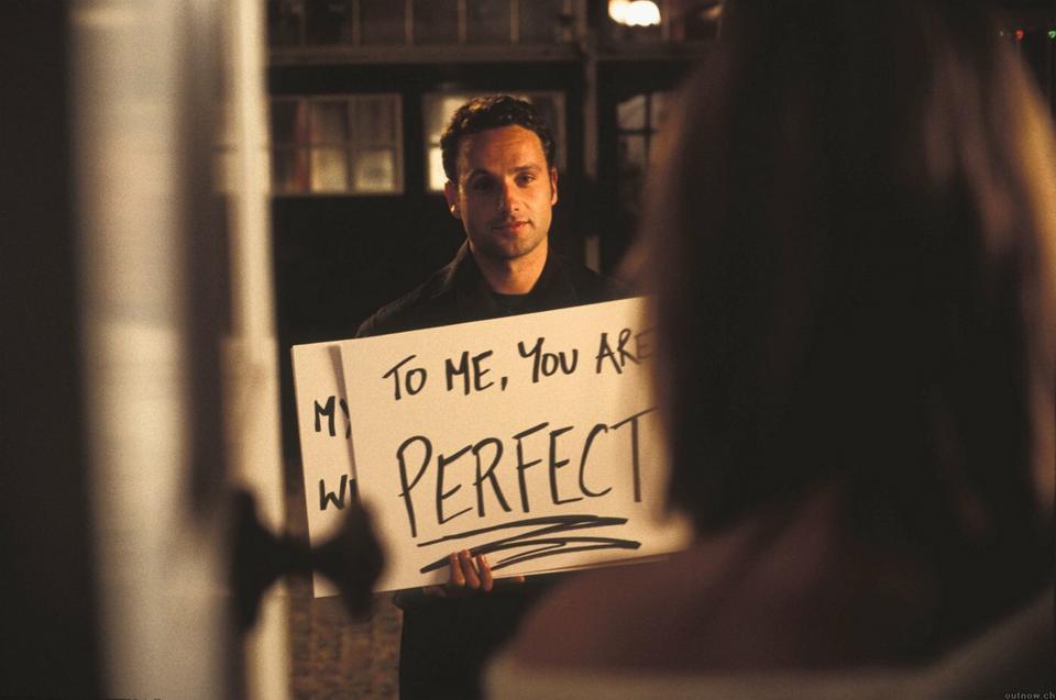 """Andrew Lincoln w filmie """"To właśnie miłość"""""""