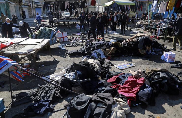Irak, teoristički napad, Bagdad