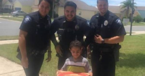 5-Jähriger wählt Notruf, um Pizza zu bestellen – Polizei liefert sofort