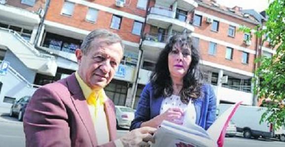 Žika Nikolić i supruga