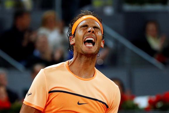 Rafael Nadal slavi trijumf