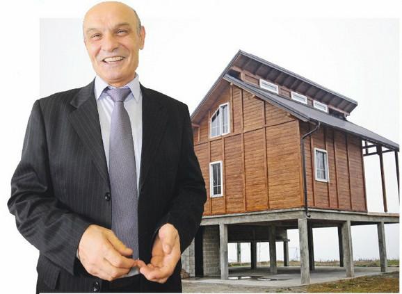 Sveže izgrađena: Ministrova vikendica se nalazi na samom kraju naselja