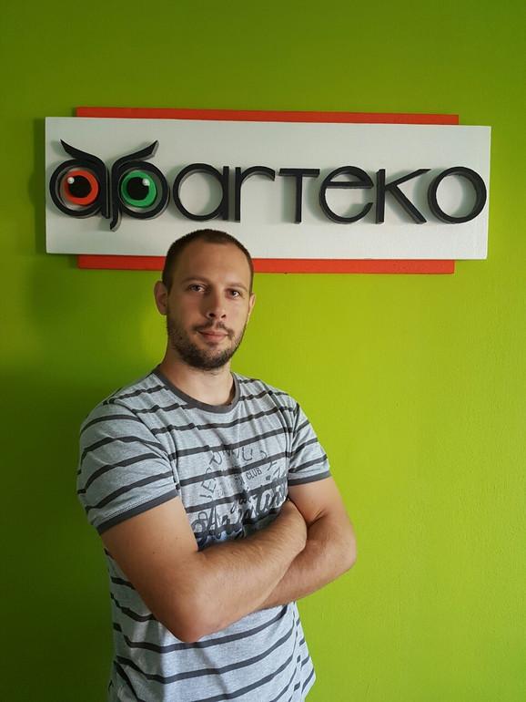Vladimir Jovanović, direktor Aparteka