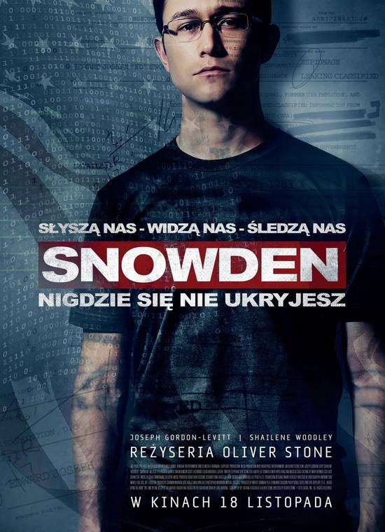 Snowden - plakat