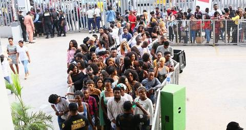 The Big Brother Naija auditions held across 8 cities in Nigeria between February 1 and February 2, 2019. (The Nation)