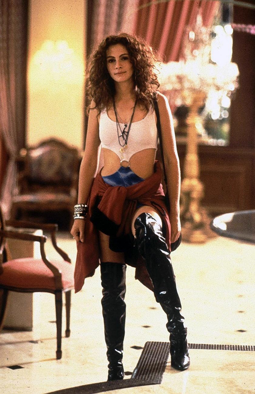 Julia Roberts w Pretty Woman
