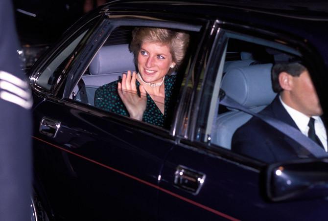 Princeza Dajana 1989. u Londonu
