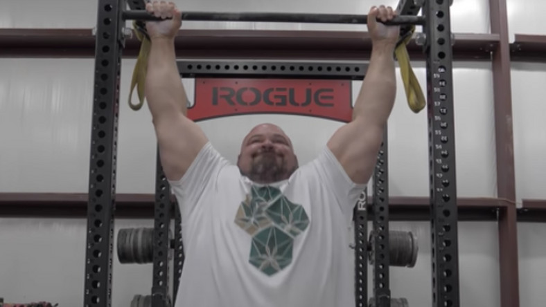 World's Strongest Man vs. Navy SEAL Pullup Contest