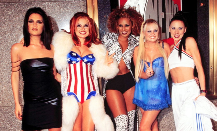 Spice Girls w latach 90. były gwiazdami na światową skalę.