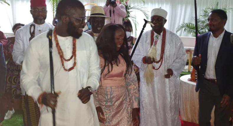 June Ruto's engagement