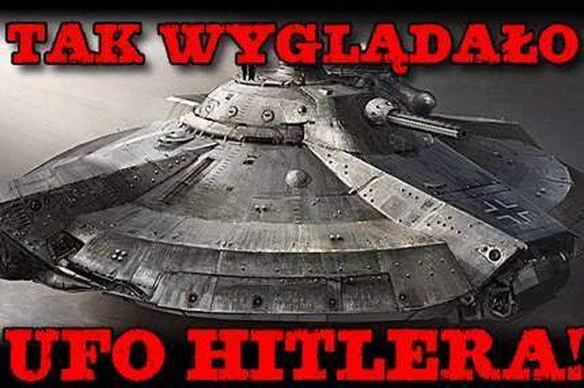 Tak wyglądało UFO Hitlera