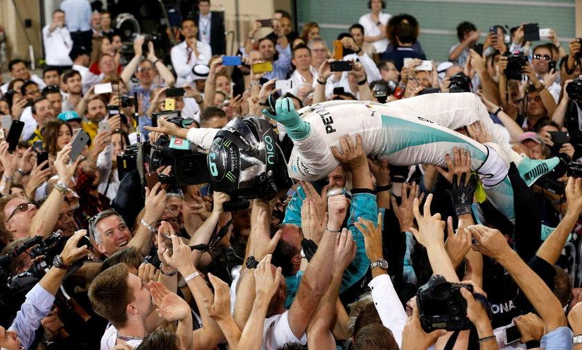 Pierwszy tytuł mistrzowski Rosberga