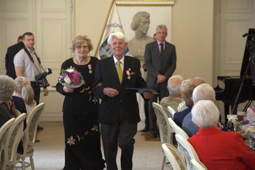 Medale za długi staż małżeństwa