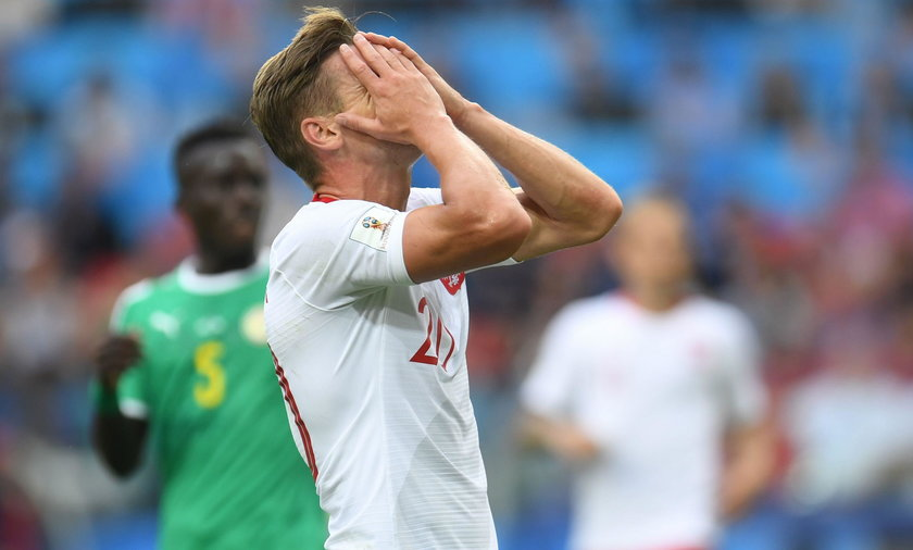 Mundial 2018 w Rosji: Polscy piłkarze wygwizdani po meczu w Moskwie