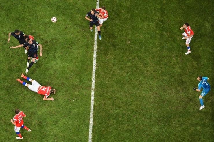 Fudbalska reprezentacija Rusije, Fudbalska reprezentacija Hrvatske