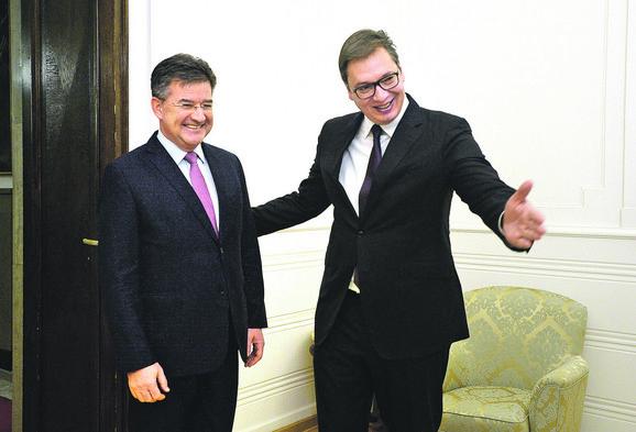 Lajčak i Vučić