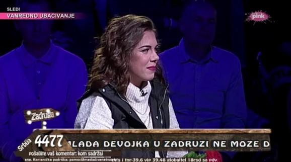 Lea Šekarić u studiju