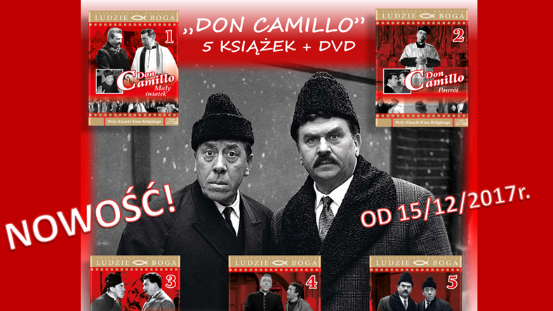"""Don Camillo"" na DVD"