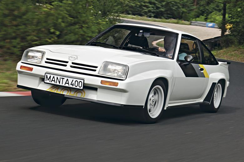 """To nie jest żadna Manta, ona tylko tak wygląda!  """"Czterysetka"""" to najprawdziwsze auto rajdowe."""