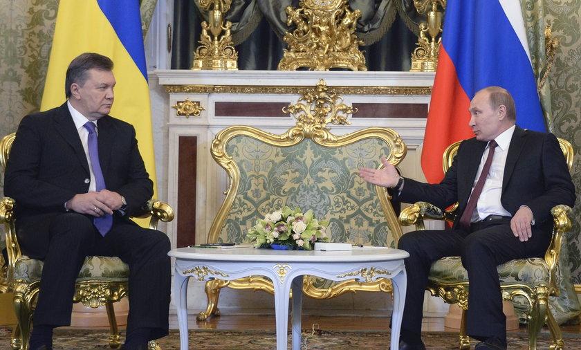 Vladimir Putin i Viktor Yanukovych