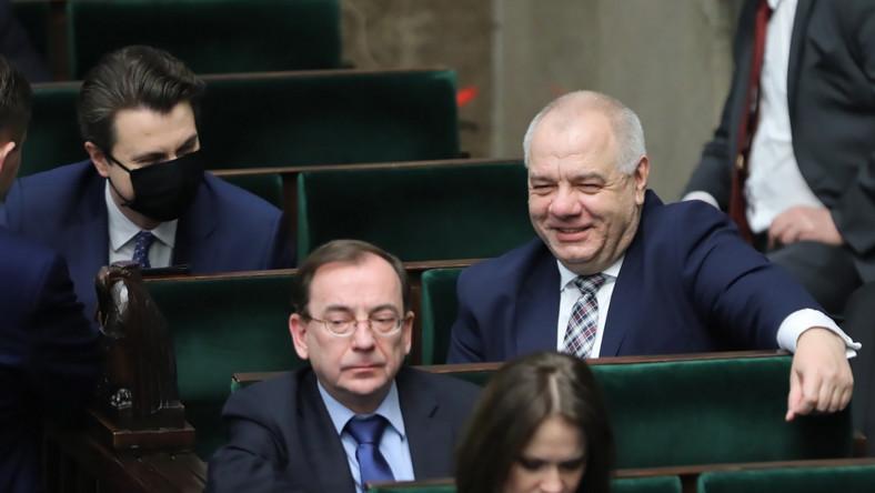 Jacek Sasin, Mariusz Kamiński, Piotr Mueller