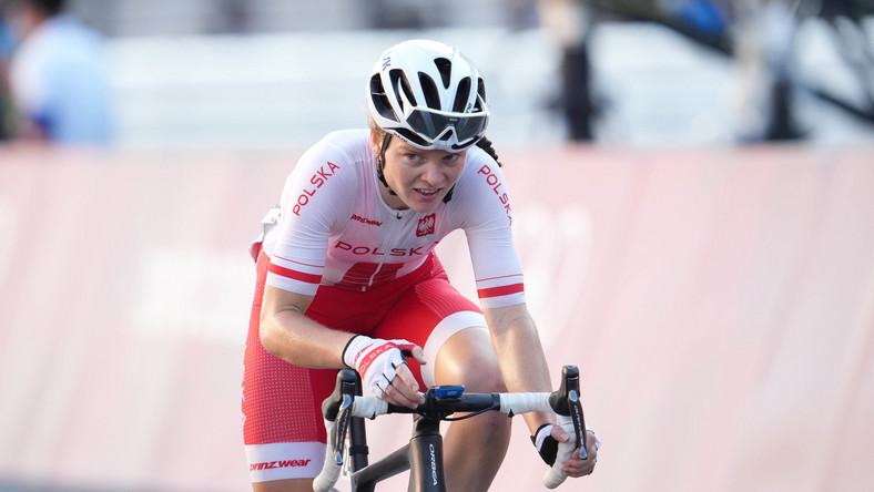 Marta Lach podczas igrzysk olimpijskich w Tokio