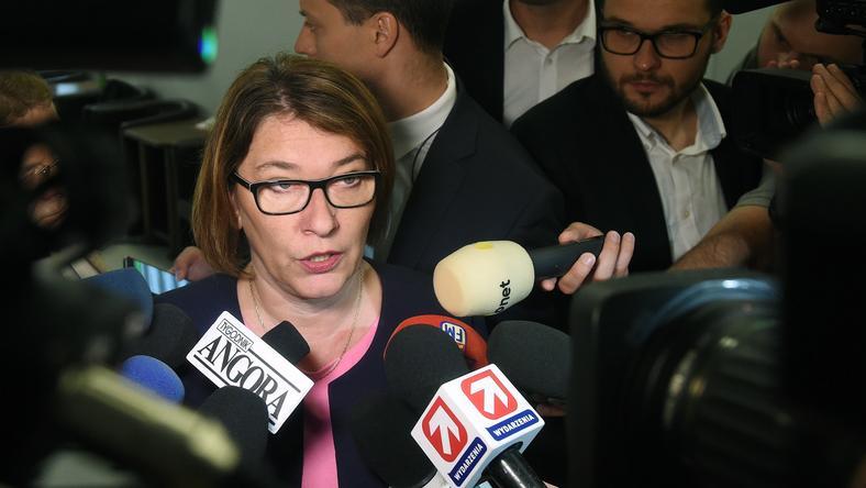 Beata Mazurek, rzeczniczka prasowa klubu parlamentarnego PiS