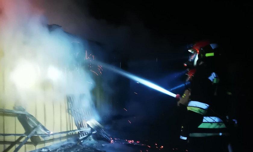 Tragiczny pożar w Rożniatowie