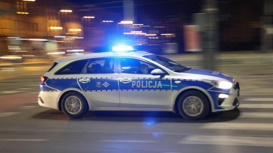 Lublin: Pijany 45-latek spowodował trzy kolizje. Uciekał przed policją