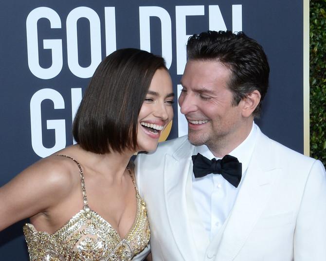 Bredli i Irina na Zlatnom globusu 2019.