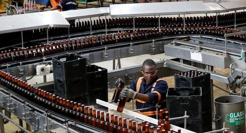 President Kibaki's favourite beer undergoes transformation even as bars remain closed in Kenya. (Reuters Africa)