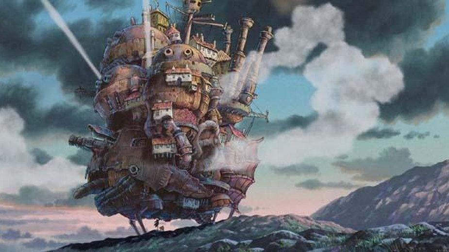 Ruchomy zamek Hauru - kadr